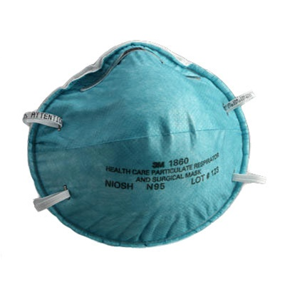 Respirator Medical 120 N95 1860 Masks 3m case